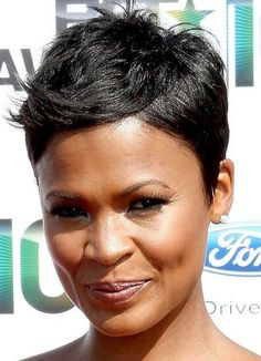 Astounding Hairstyles Thin Hair African Americans And Hair On Pinterest Short Hairstyles For Black Women Fulllsitofus