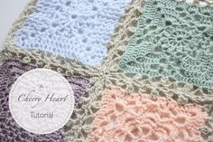 Cherry Heart: Lacy Blanket Join