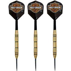 Harley-Davidson Rally Brass Steel Tip Darts billiardfactory.com