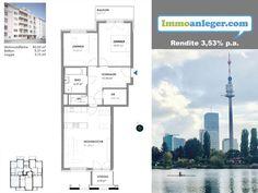Vorsorgewohnung 3 Minuten von der Alten Donau entfernt. Alter, Floor Plans, Real Estate, Homes, Floor Plan Drawing, House Floor Plans