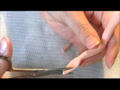 Como fazer mãos em Biscuit