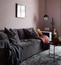 En design intérieur, pink is the new black ! - PLANETE DECO a homes world Living Room Scandinavian, Living Room Decor Cozy, Living Room Storage, Living Room Colors, Living Room Designs, Small Space Living Room, Living Room On A Budget, Living Room Modern, Salons Cosy