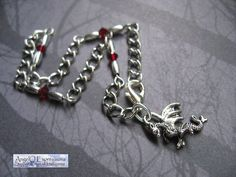 Blood of the Targaryen Anklet with Swarovski Crystals by AngelQ, $11.95