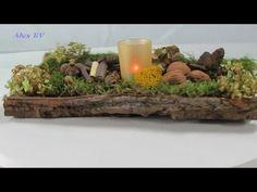 DIY: Herbstdeko | Kleine Igelchen aus Naturmaterialien | Basteln mit Kindern | Just Deko - YouTube