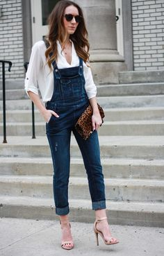 Overalls: Free People (Brady wash) // Top: Lush , just bought this one // Shoes: Similar , more heeled sandal options here // N...