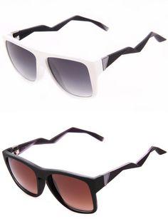 Dobraduras de origami servem de referência para óculos. Modelos são da Chilli Beans