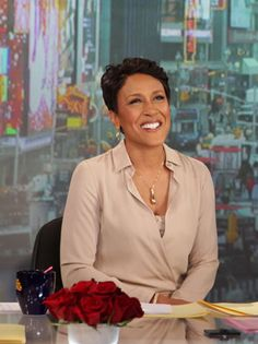 "Robin Roberts  Anchor, ABC's ""Good Morning America""...she always looks great and is a wonderful Christian woman"