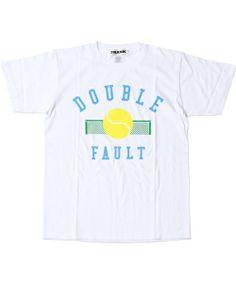 BEAMS TのFRANK / DOUBLE FAULT TEEです。こちらの商品はBEAMS Online Shopにて通販購入可能です。