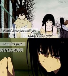 Hyouka quote