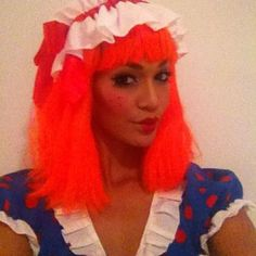 Pin for Later: Sexy and Scary Halloween Costume Inspiration From Your Favorite Victoria's Secret Angels And Raggedy Ann