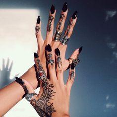 CALIFORNIA DREAMS | Henna Art Nails Beautiful Arabic Accessories Rings <3