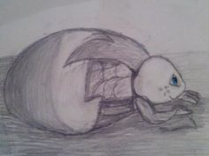 This is my first great drawing. :)  It is Mikey. :)