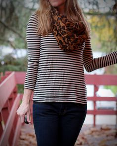 Working black and white stripes - Work it Blog