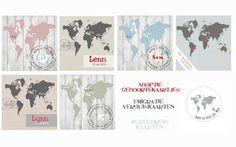 Adoptie geboortekaartjes, Emigratiekaarten, Wereldreiskaarten te bestellen bij: http://www.kaartje2go.nl/kaartenwinkel/Huis+van+Mijn/