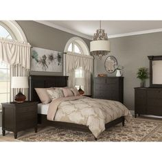 Canora Grey Causey Park Platform Customizable Bedroom Set