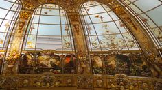 Stained glass dome 2014