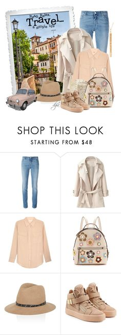 """Italy"" by dgia ❤ liked on Polyvore featuring Givenchy, WithChic, Equipment, Fendi, rag & bone, Giuseppe Zanotti and Rachel Jackson"