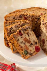 Traditional Fruitcake with Sherry (TOS)
