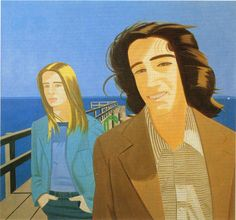 alex katz paintings | Alex Katz Islesboro Ferryslip