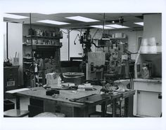 Artificial Intelligence Laboratory Machine Shop, from MIT Tech Square Collection