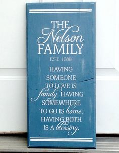 Custom Established Name Sign and Quote custom by lauraleidesign, $28.00