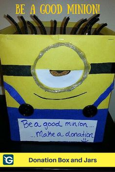 31 Best Donation Boxes And Jars Ideas Images Donation