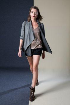 Wrap Jacket, Racer Back Vest, Contour Shorts Classic Outfits, Simple Outfits, Ethical Fashion, Pyjamas, Contour, Leather Shoes, Vest, Boutique, Shorts
