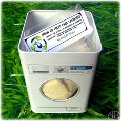 Jabón artesano para lavar a máquina