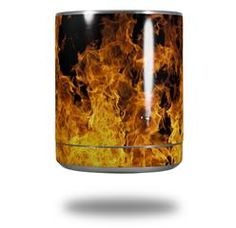 Open Fire - Decal Style Skin Wrap fits Yeti Rambler Lowball (YETI NOT INCLUDED)