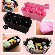 Nursing Baby Diaper Travel Tote Storage Bag Inner Organizer Milk Bottle Divider in Clothing, Shoes & Accessories | eBay