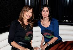 Mary Fanaro + Courteney Cox at Rwanda Rocks Launch