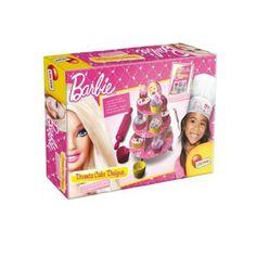 Diventa Cake Designer con Barbie  Crea decora e gusta i tuoi dolci più fashion, in perfetto stile Barbie.  #barbie #giochicreativi #giochiperbambina #cakedesign #piccolichef #roccogiocattoli