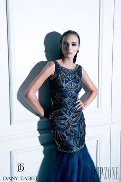 """Dany Tabet """"Night in Moscow"""", F/W 2014-2015 - Couture - http://www.flip-zone.net/fashion/couture-1/independant-designers/dany-tabet-4987"""