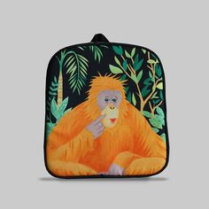 Excited to share the latest addition to my #etsy shop: Rybka - Small Backpack 2-3 Years, Kids Backpack, Toddler Bag, Preschool Kids, Playgroup bag, Orang Utan http://etsy.me/2Ct0Rpc #bagsandpurses #backpack #black #orange #kids #toddlerbag #preschoolkids #playgroupbag