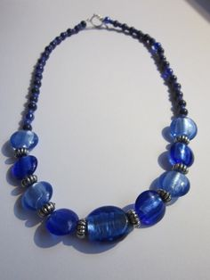 Blue Cat's Eye Sterling Silver Necklace by BeadazzlingButterfly, $24.00