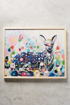 Slide View: 1: Meadow Fawn Wall Art