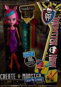 Monster High Create A Monster Werewolf  NEW Doll