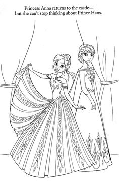 35 FREE Disneys Frozen Coloring Pages (Printable) / 1000 Free Printable Coloring Pages for Kids - Coloring Books Frozen Coloring Pages, Disney Princess Coloring Pages, Cool Coloring Pages, Cartoon Coloring Pages, Free Printable Coloring Pages, Adult Coloring Pages, Coloring Pages For Kids, Coloring Sheets, Free Coloring