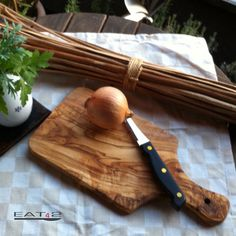 #olive #wood #cutting #board (two pieces) by Premium Olive Wood