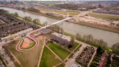 Dafne Schippers Bridge by NEXT architects and Rudy Uytenhaak Architectenbureau