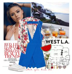 """""""WEST L.A. Romper 3"""" by nensy ❤ liked on Polyvore featuring Oasis, Finders Keepers, Nila Anthony, Converse, Clinique, Vinca, Wildfox and SoTotallyLA"""
