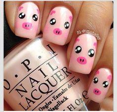 County fair nails!!!