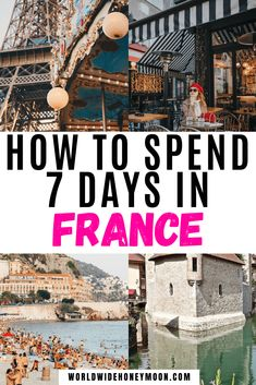 France Itinerary One Week | France Itinerary 7 Days | 7 Days in France | 7 Days in France Itinerary | France Travel | France Photography | France Countryside | France Itinerary 7 Days | Week in France Itinerary | One Week in France | Honeymoon in Europe | Europe Destinations European Travel Tips, Europe Travel Guide, Europe Destinations, France Travel, Europe Europe, Provence, Bordeaux, Oregon, D Day Beach