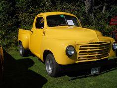 1952 Studebaker Truck with split windshield.    https://www.youtube.com/user/Viewwithme