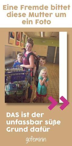 Einkaufen mit ihren vier Kindern ist eine echte Herausforderung. Aber eine fremde Frau macht diese Mutter auf etwas aufmerksam...