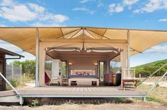 Pebble Point tents in Princetown, a Port Campbell Lodge | Stayz