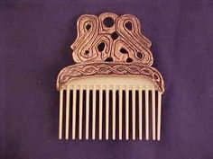 Viking - Comb from a Russian Viking find, replica