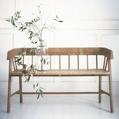 10 Of The Best Versatile Outdoor-Indoor Furniture Pieces  The Byron Bench has simple clean lines that make it easy to incorporate inside, maybe in a kitchen or hallway and would look equally fab on your patio too.