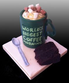 Macmillan Mug Cake