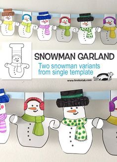 children activities, more than 2000 coloring pages Winter Art Projects, Winter Crafts For Kids, Winter Fun, Winter Theme, Art For Kids, Projects For Kids, Winter Christmas, Christmas Themes, Kids Christmas